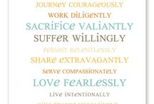 Motivational + Inspirational / by Melanie Squires