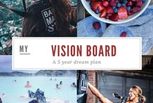 Vision Board | My 5 Year Goals / Everything I want to achieve in 5 years. A #bucketlist and #visionboard in one!