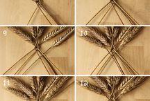 pletení z obilí