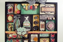 Scrapbooking Trays Frames / by Audrey Miller