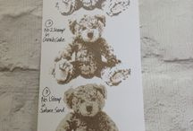 Baby Bear / Stampin' Up! Baby Bear Stamp Set