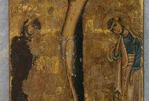 Wczesna ikona Ukrzyżowania Chrystusa