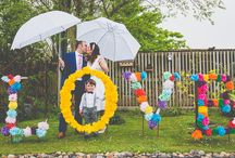Our brides / Stunning images by Alexa Poppe on #pastiesandpetticoates blog of our bride Emily and her new hubby Nick. Emily is wearing a bespoke gown designed and made by our in-house designer Lola and Em in 5 weeks from start to finish. We love the quirky wedding venue in Cornwall  too