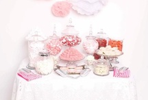 Sweetie tables / Luxury sweet & dessert tables styled by Treat Boutique