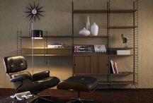 Black and white with grey in the living room. Seija www.ihannetila.fi / Musta-valkoinen ja harmaa sävyinen sisustus olohuoneessa