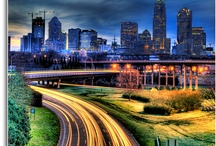 Charlotte Skyline / Charlotte has such a beautiful skyline, so why not share what we have found.