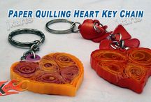 Quilling / keychain