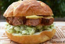 Burger aus dem Thermomix / Leckere Burger und tolle Beläge, auch als Fingerfood geeignet. Am liebsten mache ich meine Burger als Miniburger