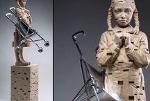 A r t: sculptures