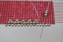 Seed bead loom projects
