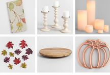 Thanksgiving / Thanksgiving Ideas | Tablescapes | Tablescape Ideas | Fall