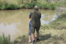 Fishing at Sosian / Fishing is a fun activity that occurs at Sosian. Cat fish, barble and tilapia are the main types of fish that can be caught at Sosian