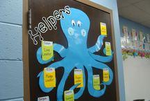 classroom underwater theme
