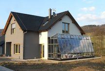 Solární skleníky - solar passive greenhouses - architecture solar greenhouses