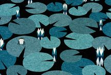Lily Pads and Koi / New Design Inspiration