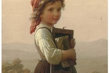 Johann Georg Meyer von Bremen / German painter (1813 – 1886)