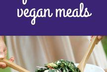 Quick vegan meals