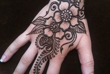 Tattoo and henna designs