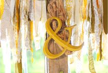 Yellow and green wedding / by Sofy Rojo