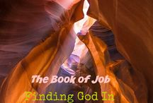 The Book of Job / Finding God in the hard places. A 8 week look at the life of Job.