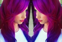 Haute Hair Colors / This board contains hairstyles with eye-catching, unique and vibrant hair-colors!! For more pins of color and hairstyles visit the board, Grown 'N Sexy Hairstyles!!