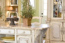 Old World Cabinetry / Inspired by the elaborate furnishings of the 18th century European palatial estates, the Habersham artisan team has created a comprehensive collection in an array of styles and finishes.