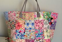 Liberty fabrics and projects
