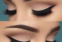 Maquillaje De Ojos / Aquí Encontraras Ideas Para Maquillar Tus Ojos Y Que Queden MUY Bien. AdemasTe Veras Bellisima!