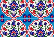 Turkish tile and ceramic plate