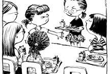 Carolyn Hax / Advice on love and life from Washington Post columnist Carolyn Hax. Cartoons by Nick Galifianakis. / by Washington Post