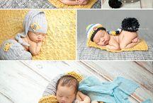 Meninos recém-nascidos