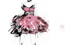 Fashion Illustration Exploration / by Abegail Armateo