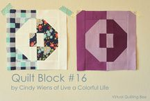 Quilty Blocky / A collection of Quilt Blocks that have a strong impact on their own, in a sampler, or just in my head.