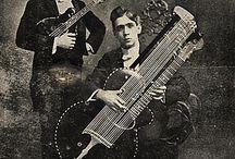 Pre-war guitar string history