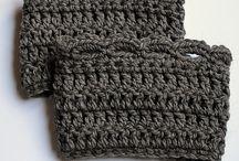 Quick crochet boot cuffs
