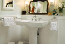 Bathrooms / Would love a large farmhouse bathroom-