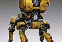 ALTAR-ALT 01 : KV2 Tank - Custom Model Robot Diorama