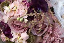 Mauve wedding goodies...