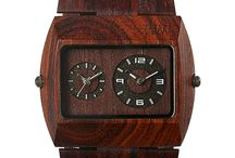 WeWood Watches / WEWOOD uses mostly scrap-wood to fashion wooden timepieces, and uses state-of-the-art Miyota movements for the guts. This is a hybrid technology that results in a unique, handsome, and earth-friendly watch.