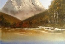 Oils / Watermixable oil paintings