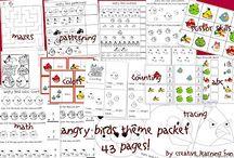 School Theme - Angry Birds