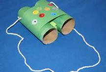 Kids crafts / by Niki Vancil