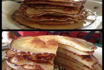 My photo / Pancake with honey cream homemade