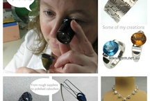 Annaig's Gemstudio handmade jewellery / Here are some images of jewellery pieces I hand made in my Sydney workshop.