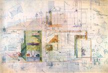 Carlo Scarpa Drawing