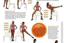 lean thighs