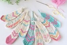 Crochet Flowers and little stuff