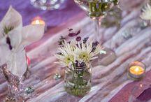 Wedding decor Lavender / Wedding table decor with a lavender theme/