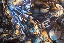 SAINTWORKSART Art of Matthew Hirons