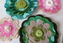 Craft Hair Clips and Bows / by Loree Horony